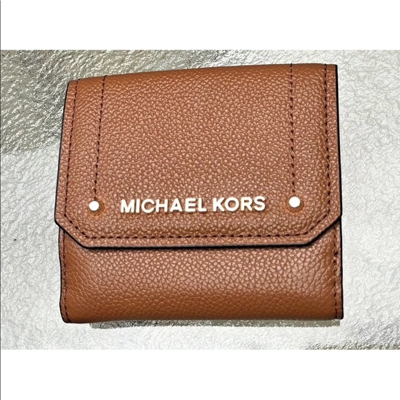 25f034087d862 MICHAEL KORS HAYES MED TRIFOLD COIN PURSE WALLET